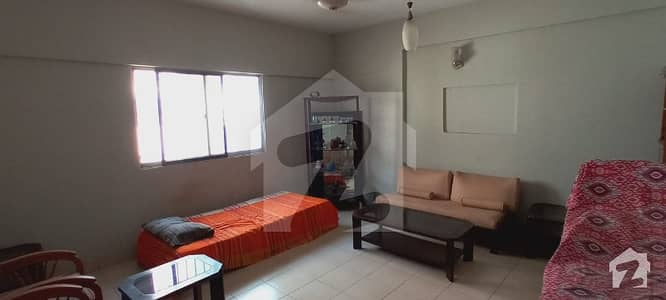 Fully Furnished 2 Bedroom Apartment Is Available For Rent In Tauheed Commercial