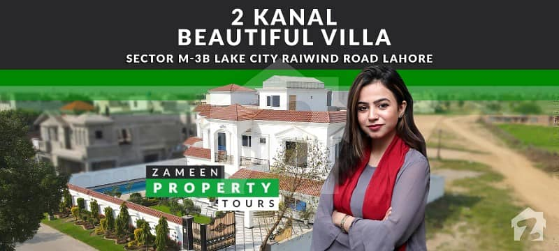 2 Kanal Beautiful Villa With Swimming Pool Cinema And Gym