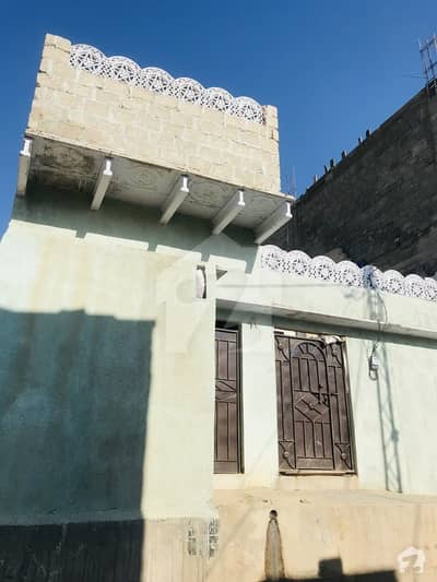 720  Square Feet House Is Available For Sale In Baldia Town