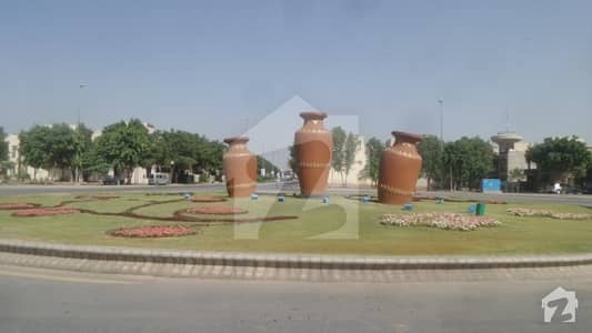 Centrally Located Commercial Plot In Bahria Town Is Available For Sale