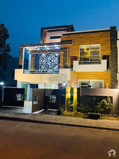 10 Marla Faceing Park Brand New House Owner Build For Sale In Sector C Bahira Town Lahore