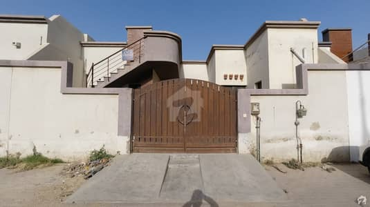 160 Sq Yard Luxury 100 Feet Road West Open Near To Market Bungalow Is Available For Sale In Saima Arabian Villas