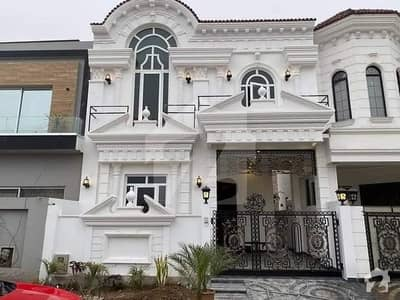 5.5 Marla Brand New Spanish House Original Pic Hot Location In DHA Phase 6