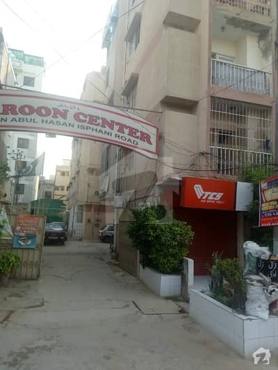 Haroon Center Flat Available For Sale Boundary Wall Project