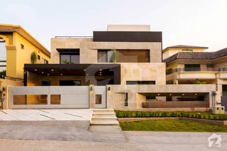 Semi Furnished Corner 10.5 Marla Phenomenal Modern Design Bungalow