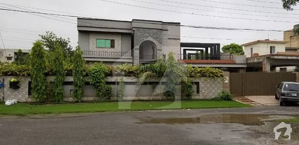 A Palatial Residence For Sale In Wapda Town Lahore