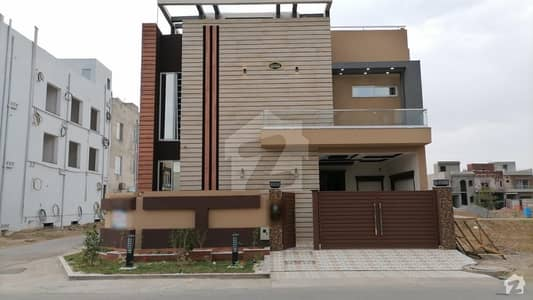 7 Marla Double Storey On 80 Feet Road Corner House For Sale In Block B