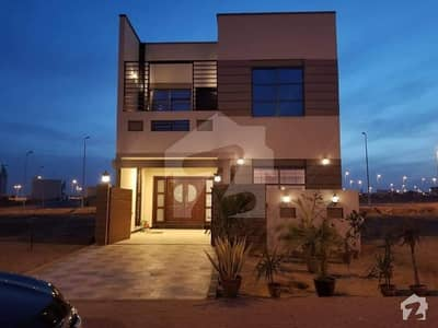 For Sale  Ali Block 125 Sq Yard Villa Brand New With Key Road #1 Front Of Commercial  Precinct 12  In Bahria Town Karachi
