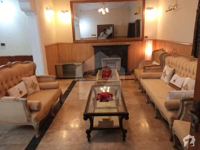 Beautiful Independent 1 Kanal Plus area Ground Portion semi furnished for rent in F-6/1