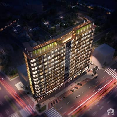 Theme Residency 3 Bedrooms Luxury Apartment For Sale In Bahria Town Karachi