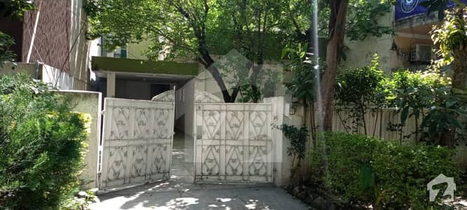 10 Marla Old House  For Sale In Blue Area Islamabad Sector G 6 By 2