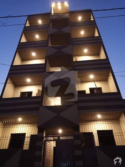 اللہ والا ٹاؤن ۔ سیکٹر 31-بی اللہ والا ٹاؤن کورنگی کراچی میں 2 کمروں کا 2 مرلہ فلیٹ 14 لاکھ میں برائے فروخت۔