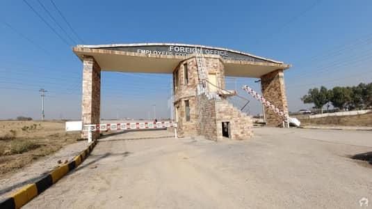 ایف او ای سی ایچ ایس ۔ فارن آفس ایمپلائیز سوسائیٹی اسلام آباد میں 6 مرلہ رہائشی پلاٹ 25 لاکھ میں برائے فروخت۔