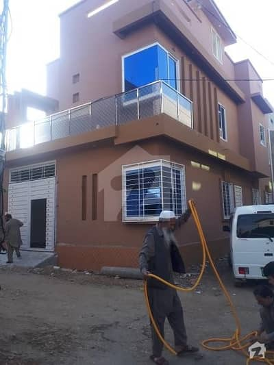 5 Marla Double Story Fresh Corner Home For Sale In Warsak Road