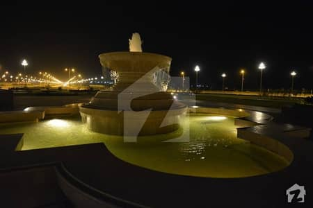 Prime Location 250 Yards Residential Plot For Sale 80 Feet Wide  Road No 6  In Bahria Town Precinct 30