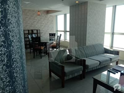 Corner Furnished 2 Bed  Flat For Sale In Centaurus