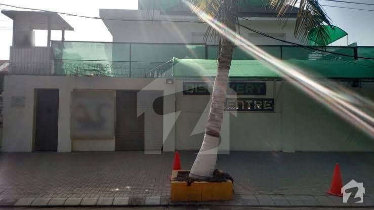 کلفٹن ۔ بلاک 4 کلفٹن کراچی میں 5 کنال دفتر 69 کروڑ میں برائے فروخت۔