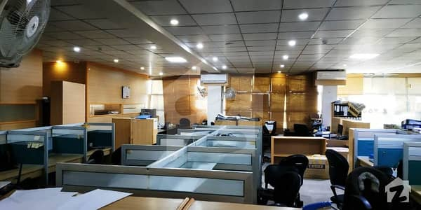 Blue Area 4000 SQ FT Furnished Elegant Corporate Office is available for Rent.