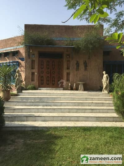 Beautiful Red Brick Farm House For Rent On Raiwind Road