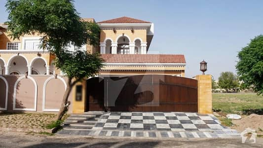 A Nicely Build 2 Kanal House Is Available For Sale At Valencia Block C Lahore