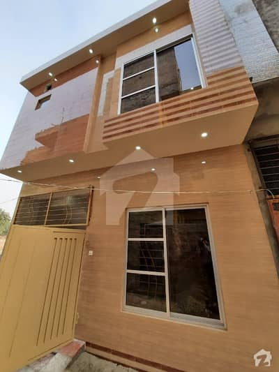 3 Marla Brand New Double Unit Beautiful House For Sale In Khuda Baksh Colony New Airport Road Lhr