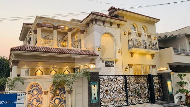 14- Marla Corner Brand New Lovely Spanish Design Corner Bungalow For Sale In Dha Air Avenue Phase 8, Block N