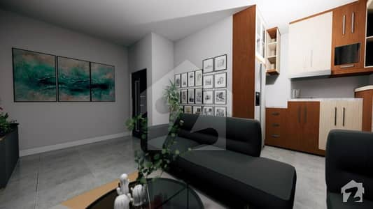 527 Sq Ft Flat For Sale On 1 Year Installment Plan In Sector E Quaid Block Bahria Town Lahore
