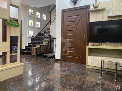 5 Marla Well Furnished House Facing Park For Sale