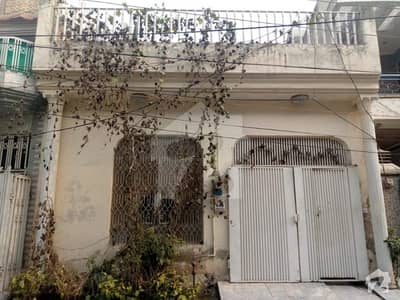 15 Years Old Single Storey House IS Available For Sale In Sabzazar Scheme Lahore