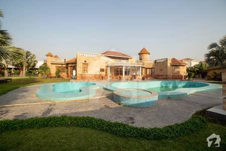 بحریہ ٹاؤن سیکٹر سی بحریہ ٹاؤن لاہور میں 5 کمروں کا 40 کنال فارم ہاؤس 75 کروڑ میں برائے فروخت۔