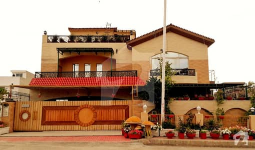 22 Marla Fully Furnished House For Sale Bahria Town Phase 8 Usman D Block Rwp