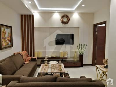 1 BED FULLY FURNISHED AND FULL LUXURY EXCELLENT IDEAL LOCATION FLAT FOR RENT IN BAHRIA TOWN LAHORE