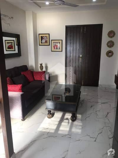 ONE BED FULLY LUXURY FURNISHED FAMILY APARTMENT AVAILABLE FOR RENT IN BAHRIA TOWN LAHORE,