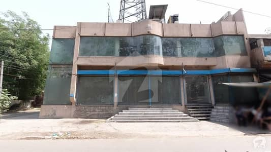 13 Marla Corner Commercial Building Is Available For Sale In Allama Iqbal Town