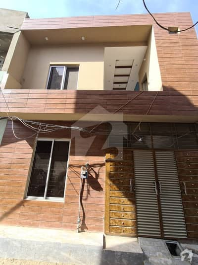 3 Marla Double Storey Brand New House Is Available For Sale In Nishtar Colony