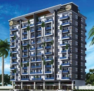 بحریہ ٹاؤن - پریسنٹ 19 بحریہ ٹاؤن کراچی کراچی میں 2 کمروں کا 3 مرلہ فلیٹ 57 لاکھ میں برائے فروخت۔