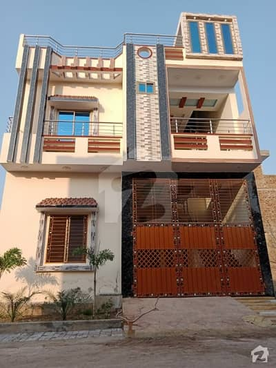 سرگودھا - سلاں والی روڈ سرگودھا میں 6 کمروں کا 4 مرلہ مکان 1.1 کروڑ میں برائے فروخت۔