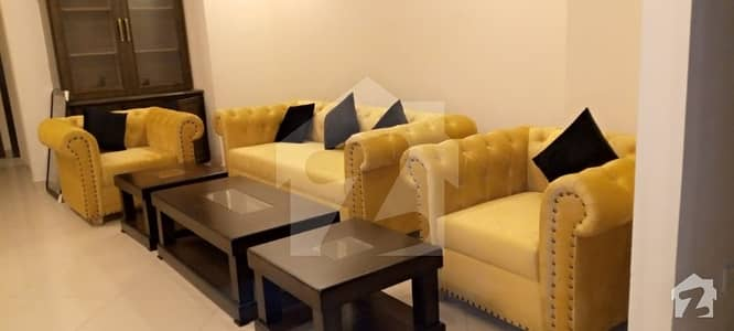 One Bed Fully Furnished Apartment For Rent In Civic Centre Bahria Town