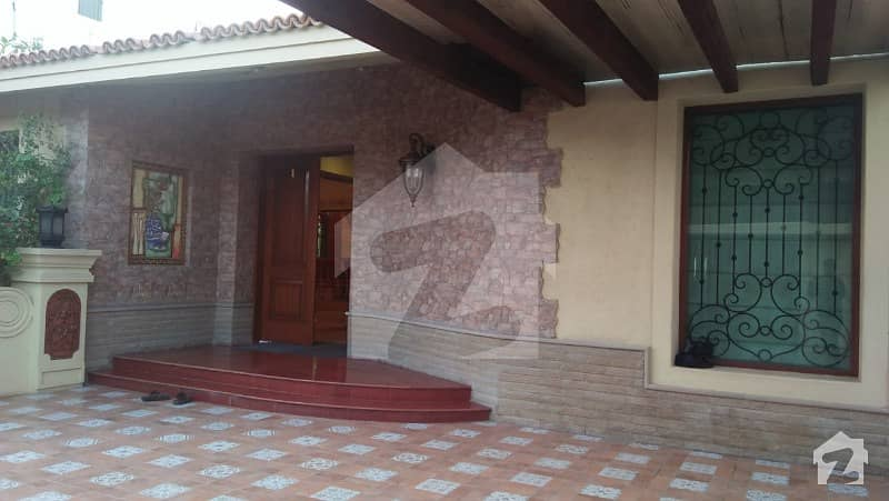 West Open Bungalow With Basement Is Available For Sale In Dha Phase 6