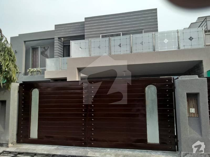 One Kanal Lavish Style House For Sale In Punjab Cooperative Housing Society Lhr Cantt