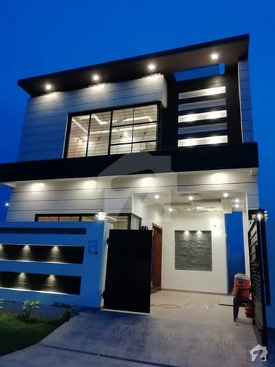 5 Marla Brand New Luxury Bungalow Beautiful Location Cheap Price DHA 9 Town