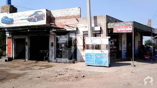 جھنگ روڈ فیصل آباد میں 1 مرلہ دکان 10 لاکھ میں برائے فروخت۔