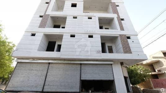 گلشنِ معمار - سیکٹر ایکس گلشنِ معمار گداپ ٹاؤن کراچی میں 2 کمروں کا 4 مرلہ فلیٹ 62 لاکھ میں برائے فروخت۔