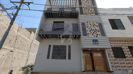 ڈائمنڈ سٹی گلشنِ معمار گداپ ٹاؤن کراچی میں 4 کمروں کا 3 مرلہ مکان 98 لاکھ میں برائے فروخت۔