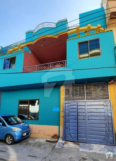 Green Cap Double Storey House For Sale