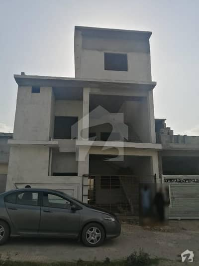 5 Marla House Double Floor Grey Structure Itefaq Enclave Kirpa Road