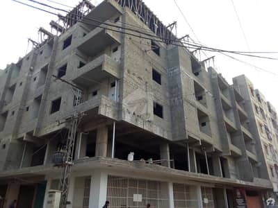 1400 Sq Feet Flat For Sale Available At Latifabad No 5, Sapna Palaza Opposite Arif Builders Office Hyderabad