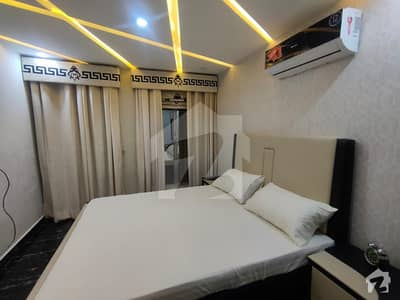 1 Bed Furnished Flat Avaialable In Sector D Bahria Town Lahore