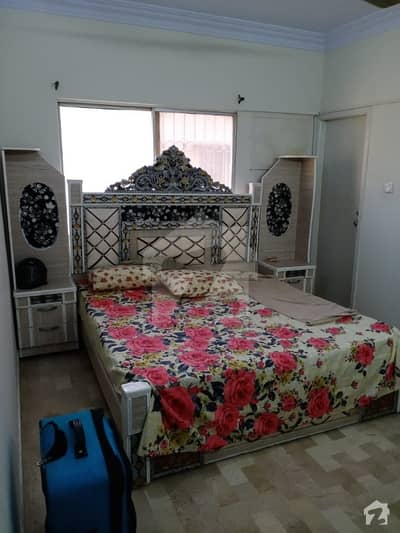 2 Beds Apartment Semi Furnished Available For Rent at 9A street Badar Commercial