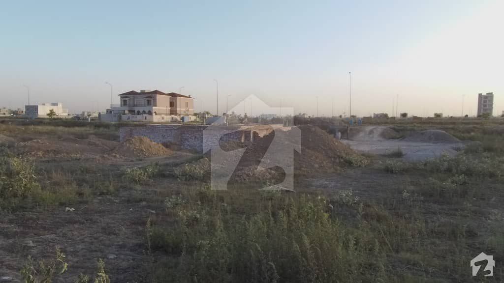 10 Marla Plot For Sale DHA Phase 6 Block D Prime Location Luxury Life Style In Very AFFordable Price